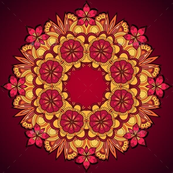 Floral Ornament - Backgrounds Decorative