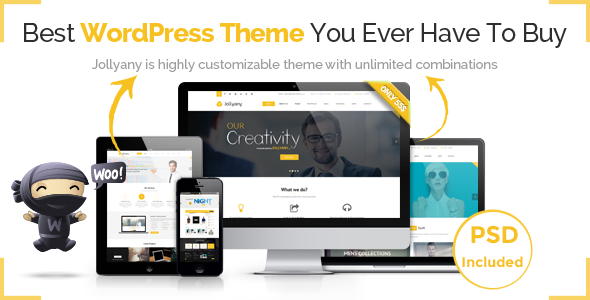 Jollyany – Corporate Multi Purpose WordPress Theme