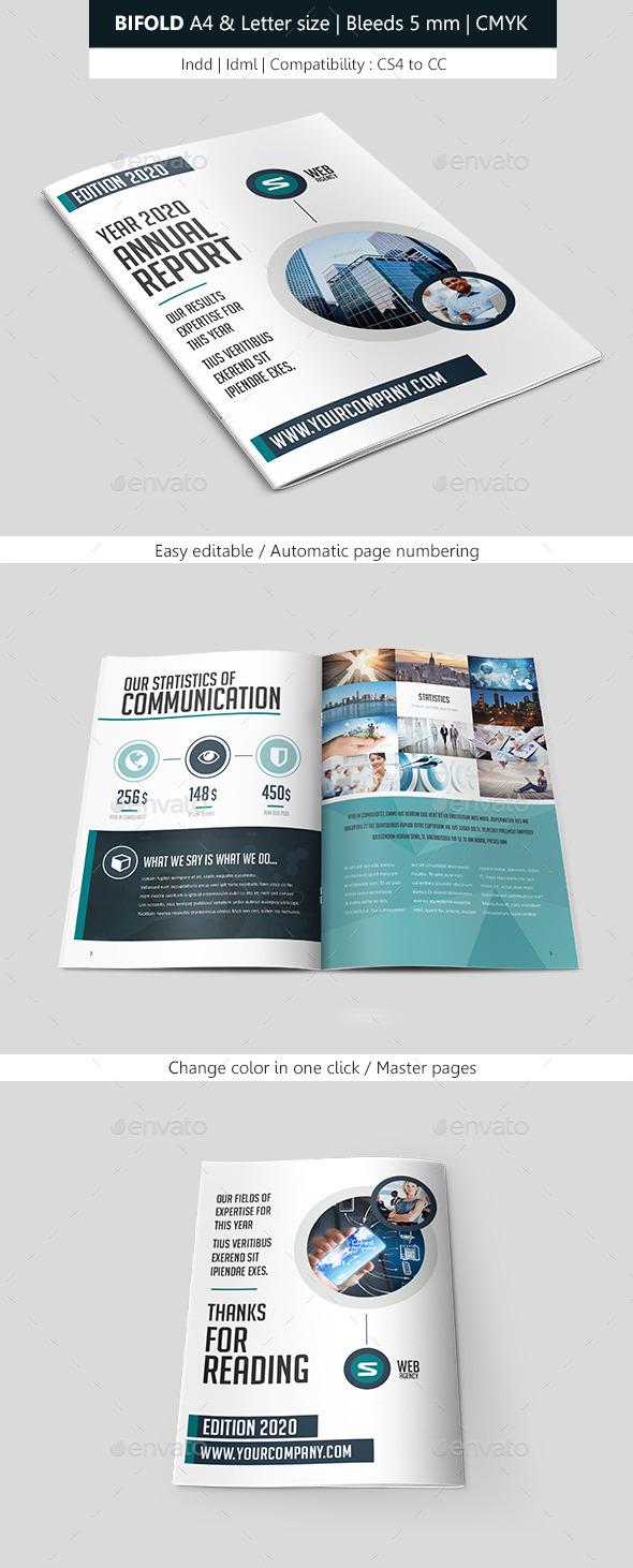 Corporate Brochure Template Bifold - Corporate Brochures