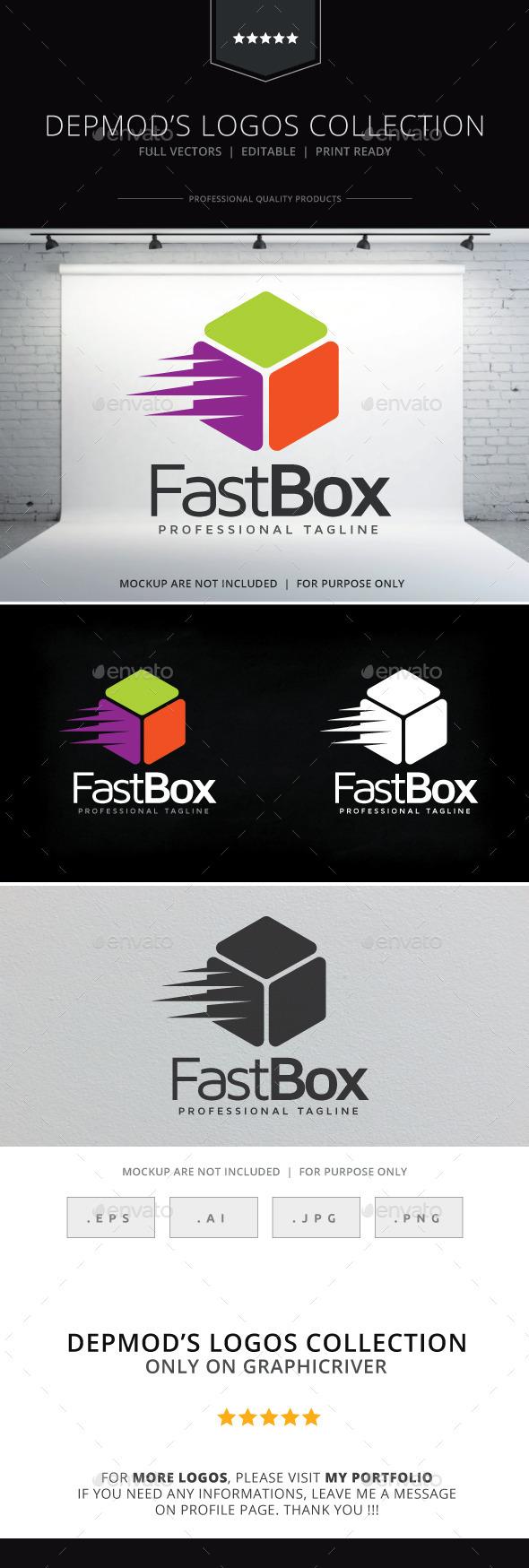 Fast Box Logo - Symbols Logo Templates
