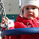 Baby in Swing Portrait - VideoHive Item for Sale