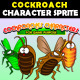 Cockroach Characters - GraphicRiver Item for Sale
