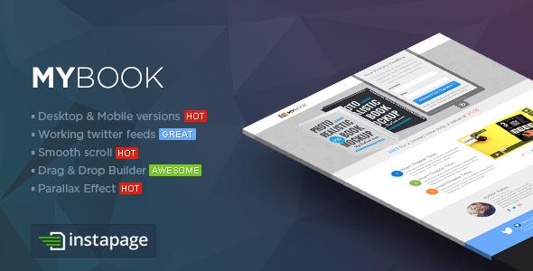 MYBook - Instapage ebook Landing Page - Instapage Marketing