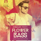 Flower Bass Flyer Template - GraphicRiver Item for Sale