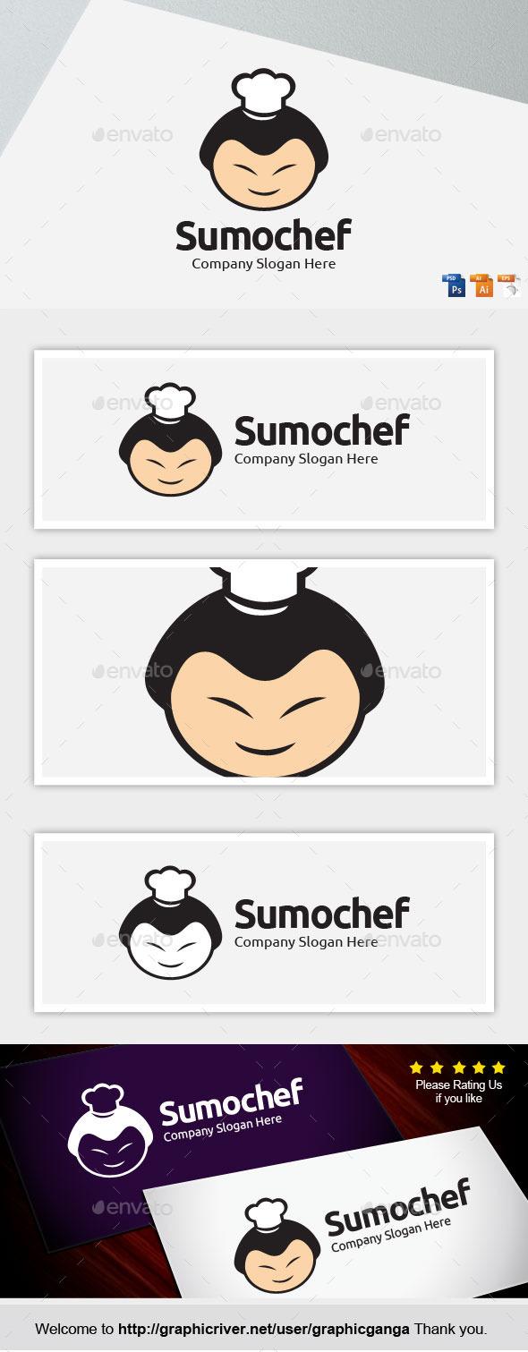 Sumochef - Humans Logo Templates