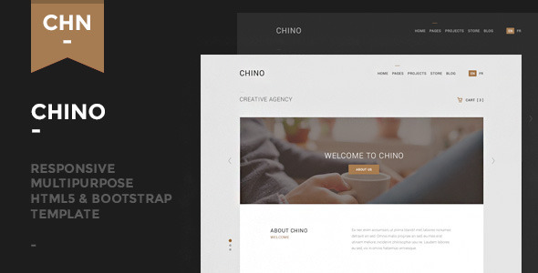 Chino – Responsive Multipurpose Template