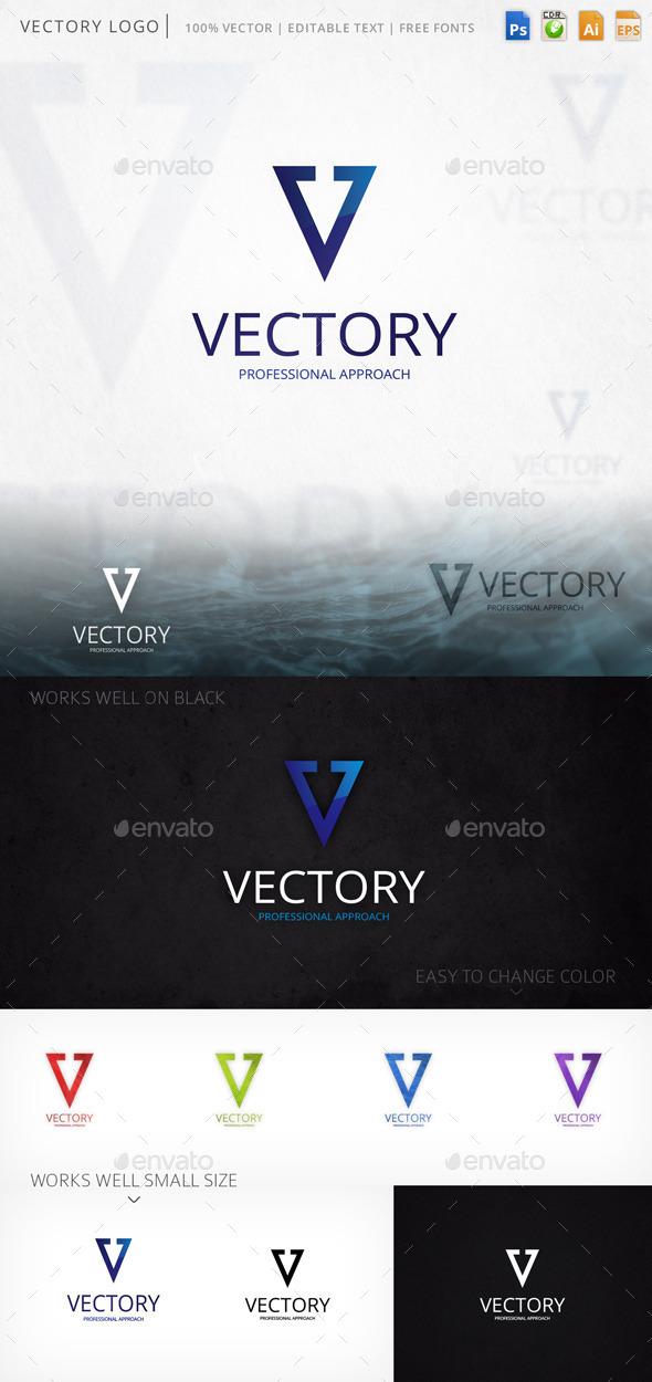 Vectory Letter V Logo Template - Letters Logo Templates