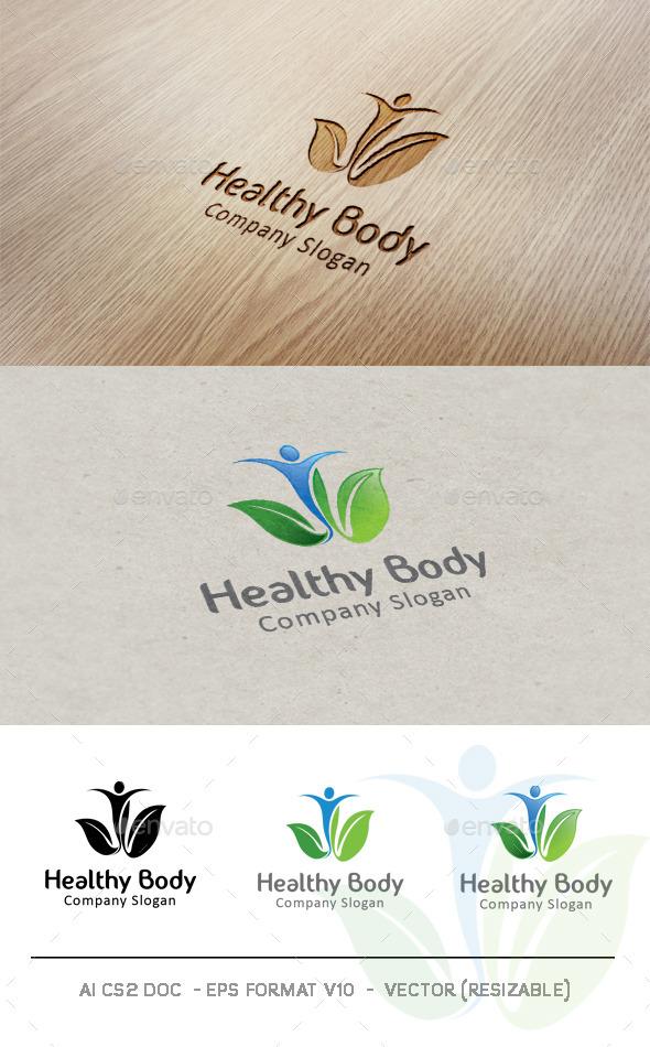 Healthy Body Logo - Nature Logo Templates