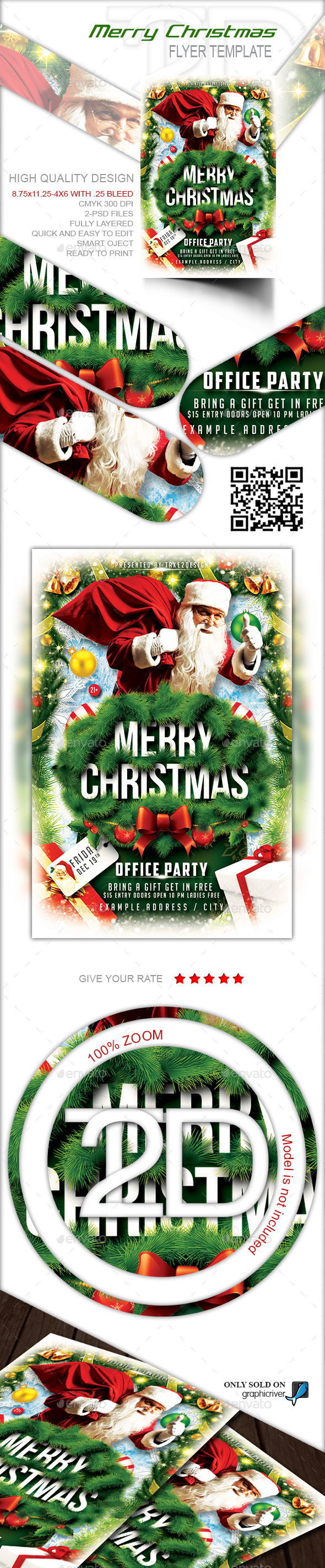 Christmas Party-Merry Christmas - Holidays Events