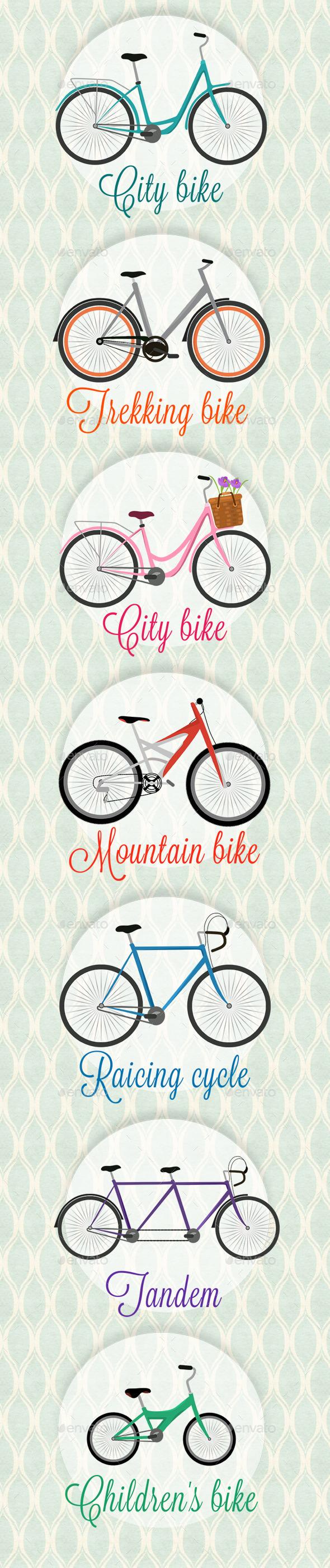 Different Bikes - Sports/Activity Conceptual