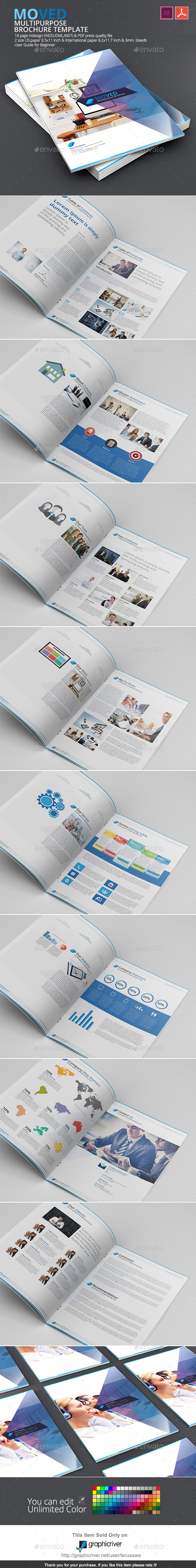 Moved Brochure Template - Corporate Brochures