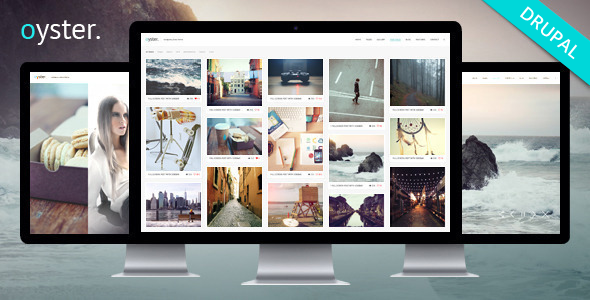 Oyster - Creative Photography Drupal Theme