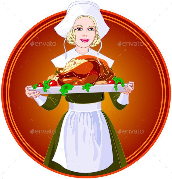 Pilgrim Girl - Miscellaneous Seasons/Holidays