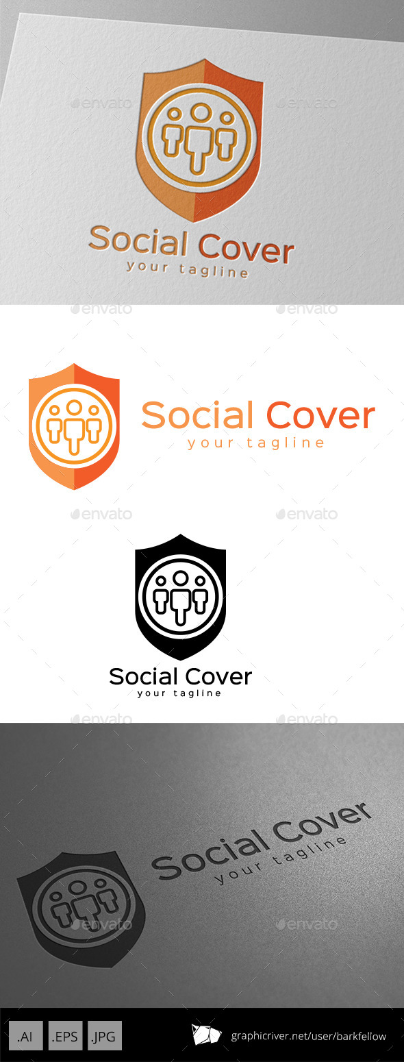 Social Cover and Protection Template - Symbols Logo Templates
