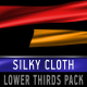 SILKY CLOTH lower thirds PACK - VideoHive Item for Sale