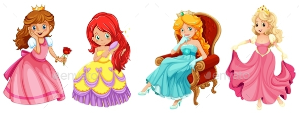 Princess - People Characters