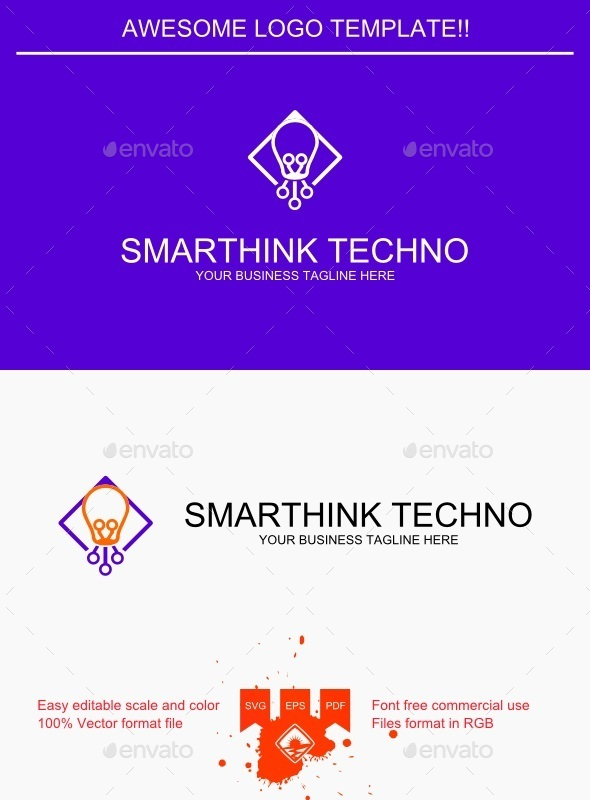 Smarthink Techno Logo - Objects Logo Templates