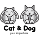 Cat and Dog Logo - GraphicRiver Item for Sale