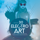 Electro Art Flyer Template - GraphicRiver Item for Sale