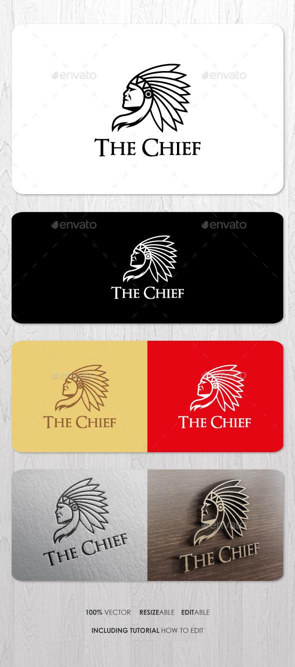The Chief Logo - Humans Logo Templates