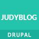 JudyBlog - Elegant Blog Drupal Theme - ThemeForest Item for Sale