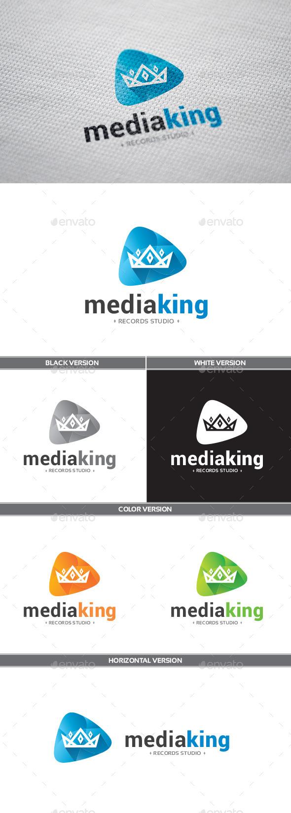 MediaKing Logo - Symbols Logo Templates