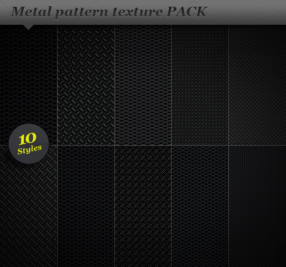 Metal pattern effect background texture - Metal Textures