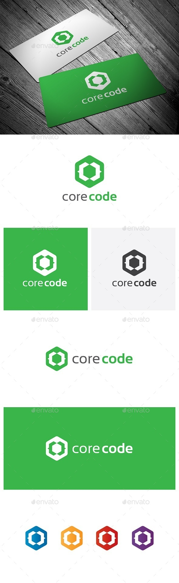 Core Code - Symbols Logo Templates