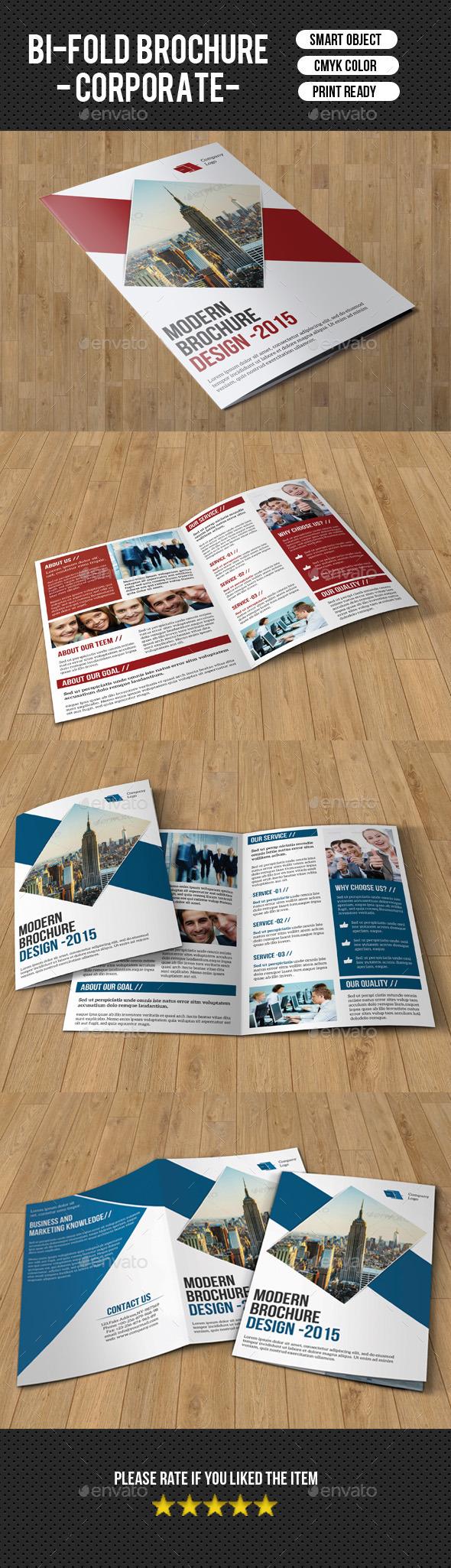 Bifold Brochure for Business-V155 - Corporate Brochures
