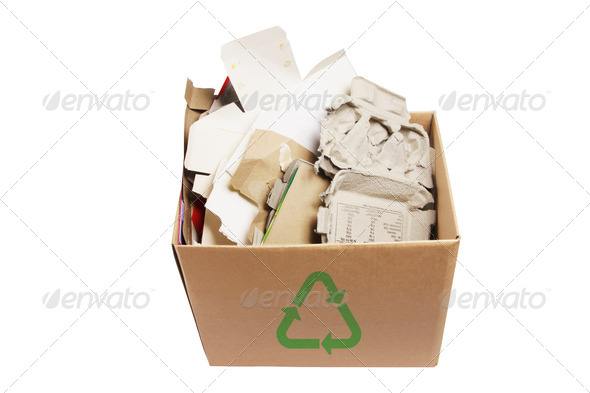 Paper Products for Recycle - Stock Photo - Images