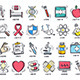 Health Care and Medicine Doodles - GraphicRiver Item for Sale