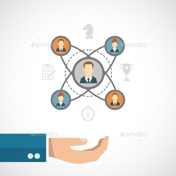 Connected People Concept - Business Conceptual