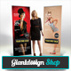 Fashion - Roll Up Banner Signage  - GraphicRiver Item for Sale