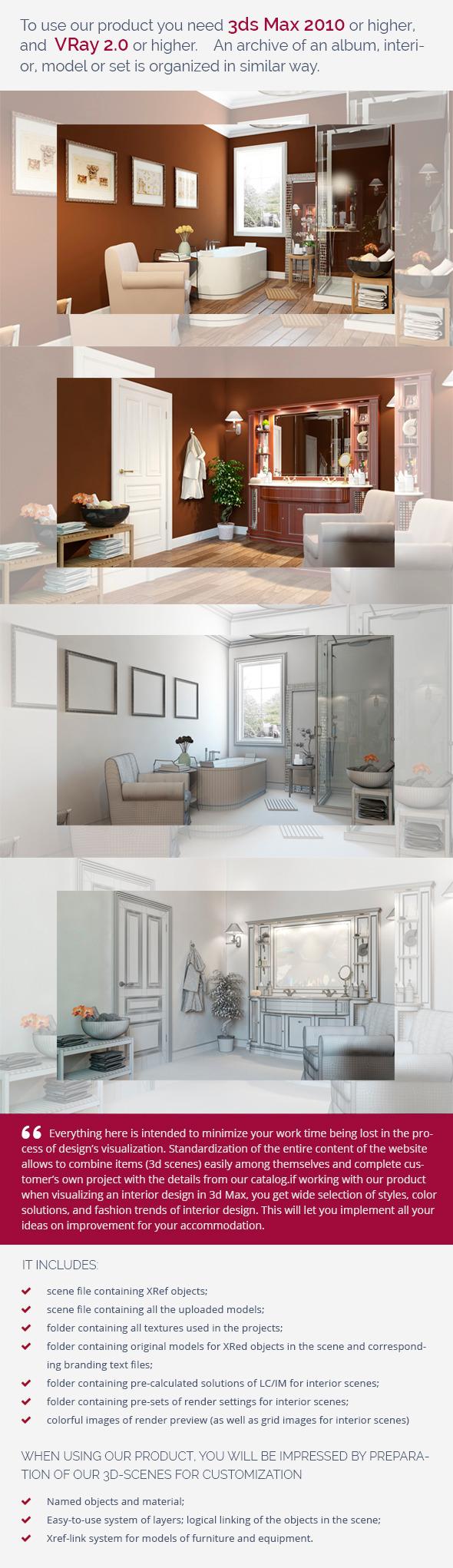 Bathroom 0370 - 3DOcean Item for Sale