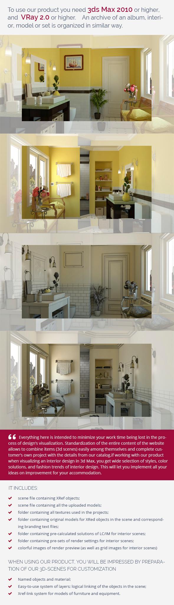 Bathroom 0379 - 3DOcean Item for Sale