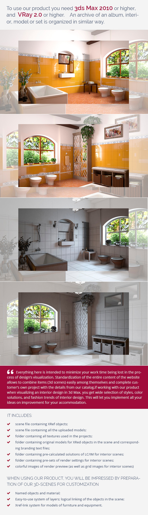Bathroom 0380 - 3DOcean Item for Sale