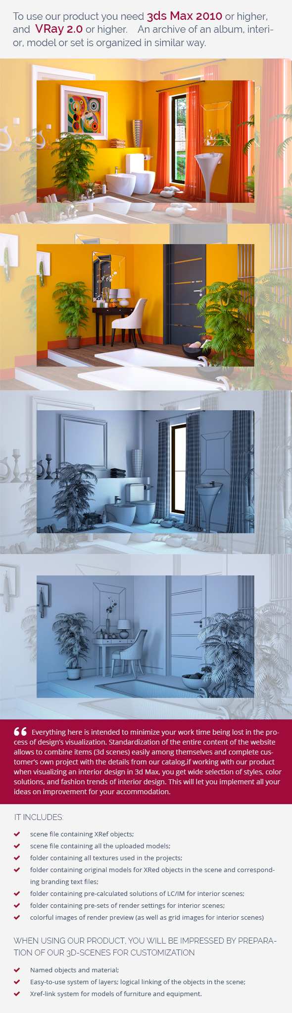 Bathroom 0381 - 3DOcean Item for Sale