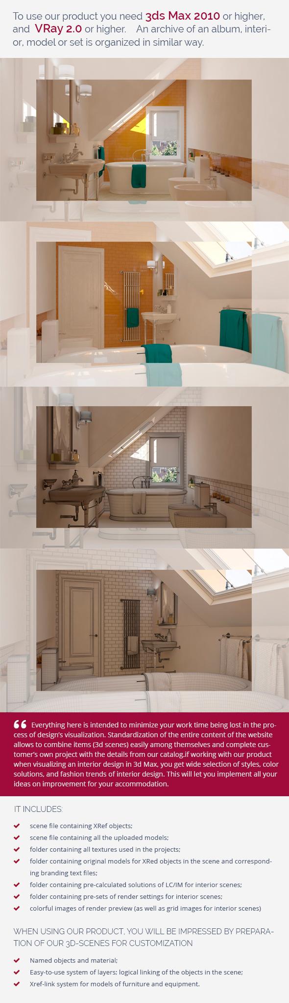 Bathroom 0382 - 3DOcean Item for Sale