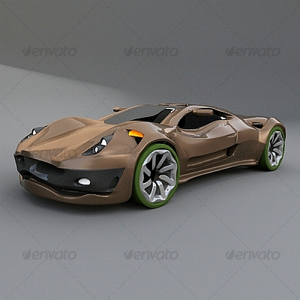 Dreamcar concept - 3DOcean Item for Sale