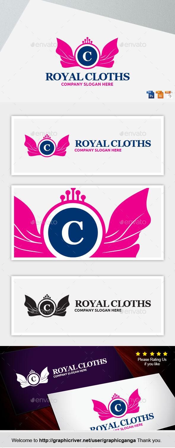 Royal Cloths - Abstract Logo Templates