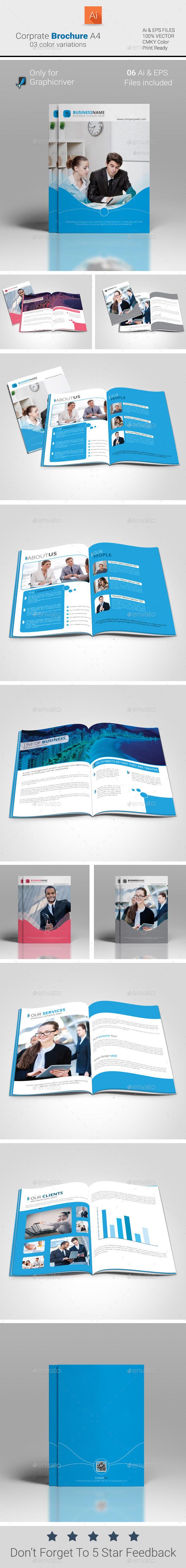 Corporate Brochure A4 - Corporate Brochures