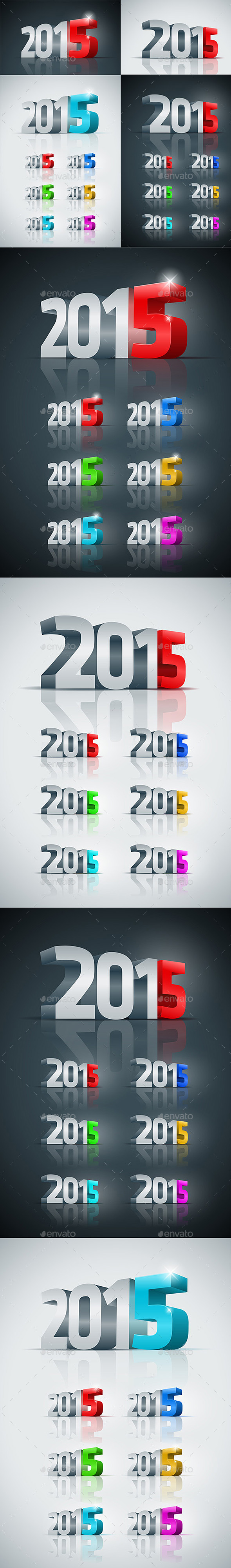 3d 2015 Collection - New Year Seasons/Holidays