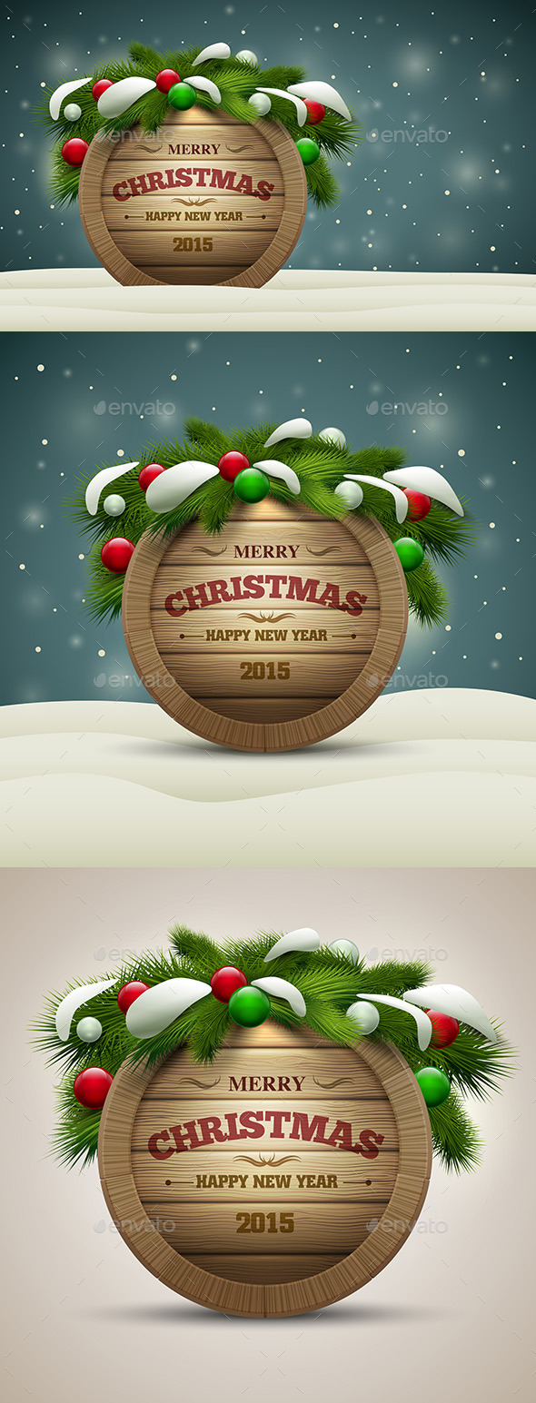 Wooden Christmas Signboard - Christmas Seasons/Holidays