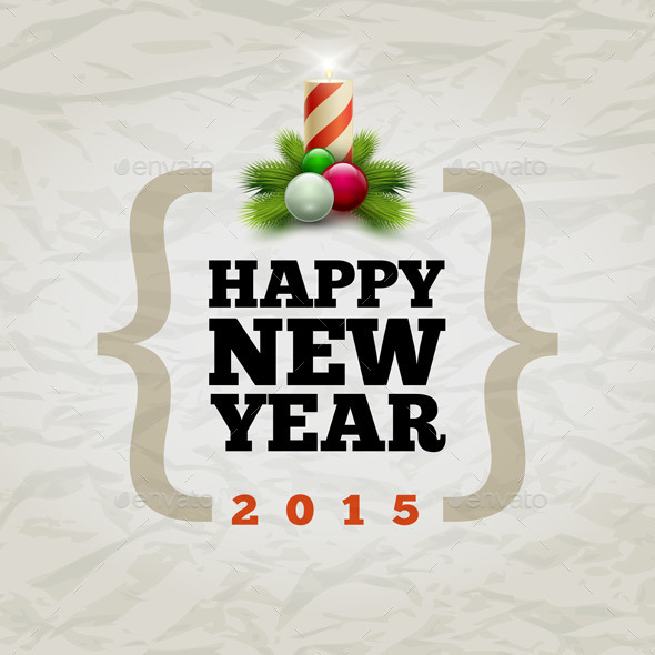 Happy New Year 2015 - Christmas Seasons/Holidays