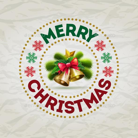 Christmas Badge - Christmas Seasons/Holidays