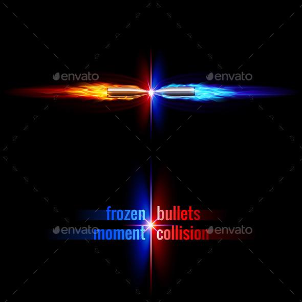 Bullets Collision - Miscellaneous Vectors