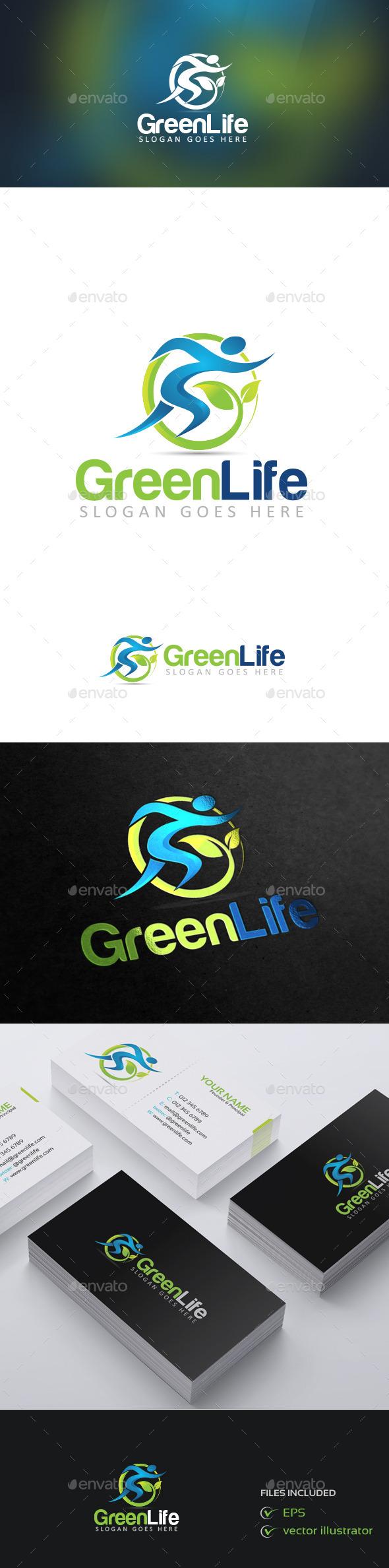GreenLife - Nature Logo Templates