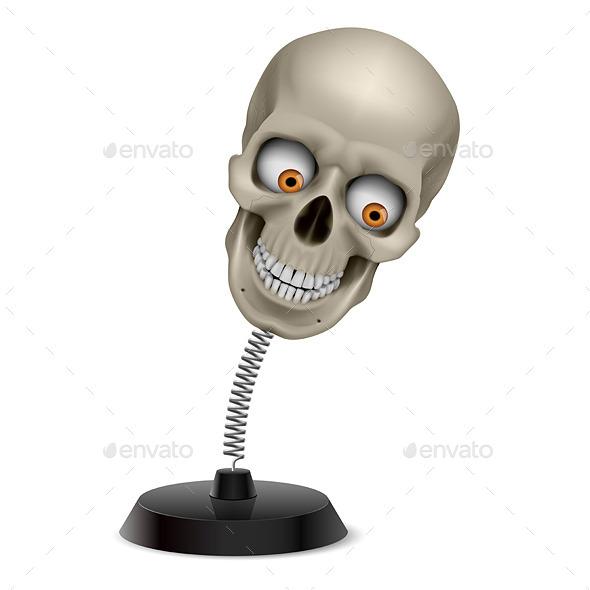 Skull Souvenir - Miscellaneous Vectors