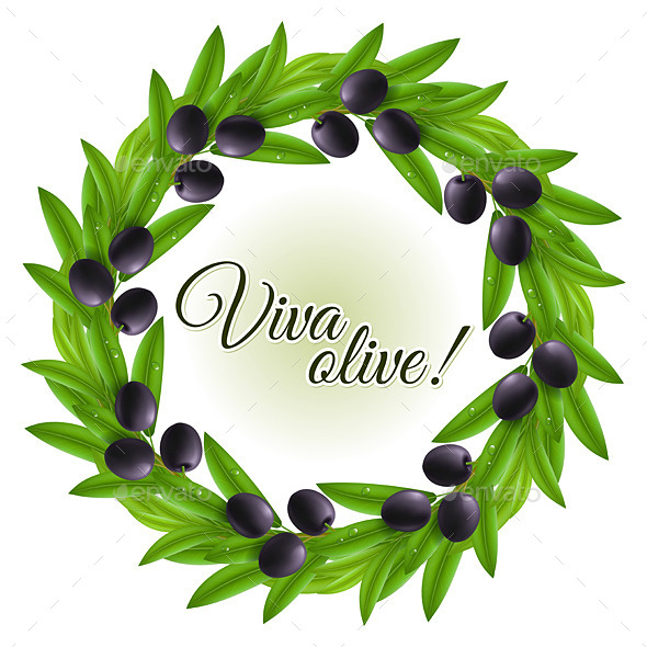 Olive Wreath - Decorative Symbols Decorative