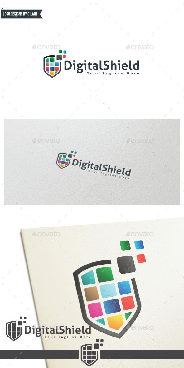DigitalShield - Abstract Logo Templates